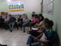 Reunião da Diretoria da ACEIS e Vereadores